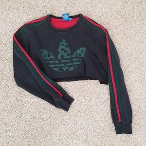 Cropped Adidas Sweatshirt